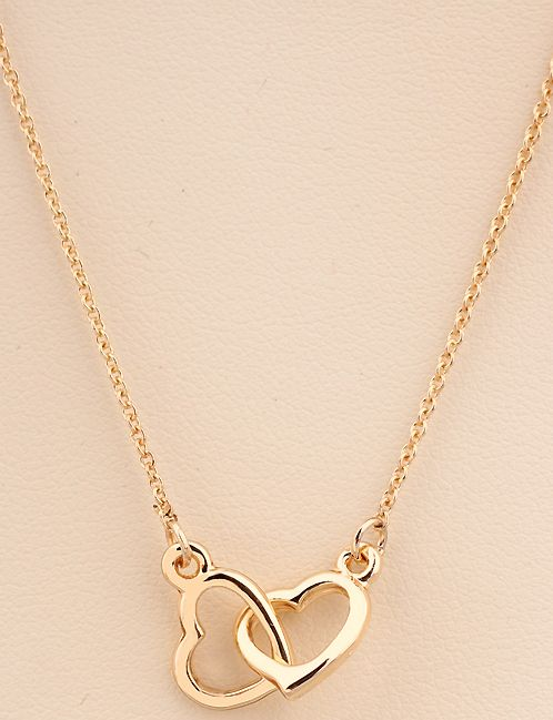 Shop Gold Hollow Heart Necklace online. Sheinside offers Gold Hollow Heart Necklace & more to fit your fashionable needs. Free Shipping Worldwide!