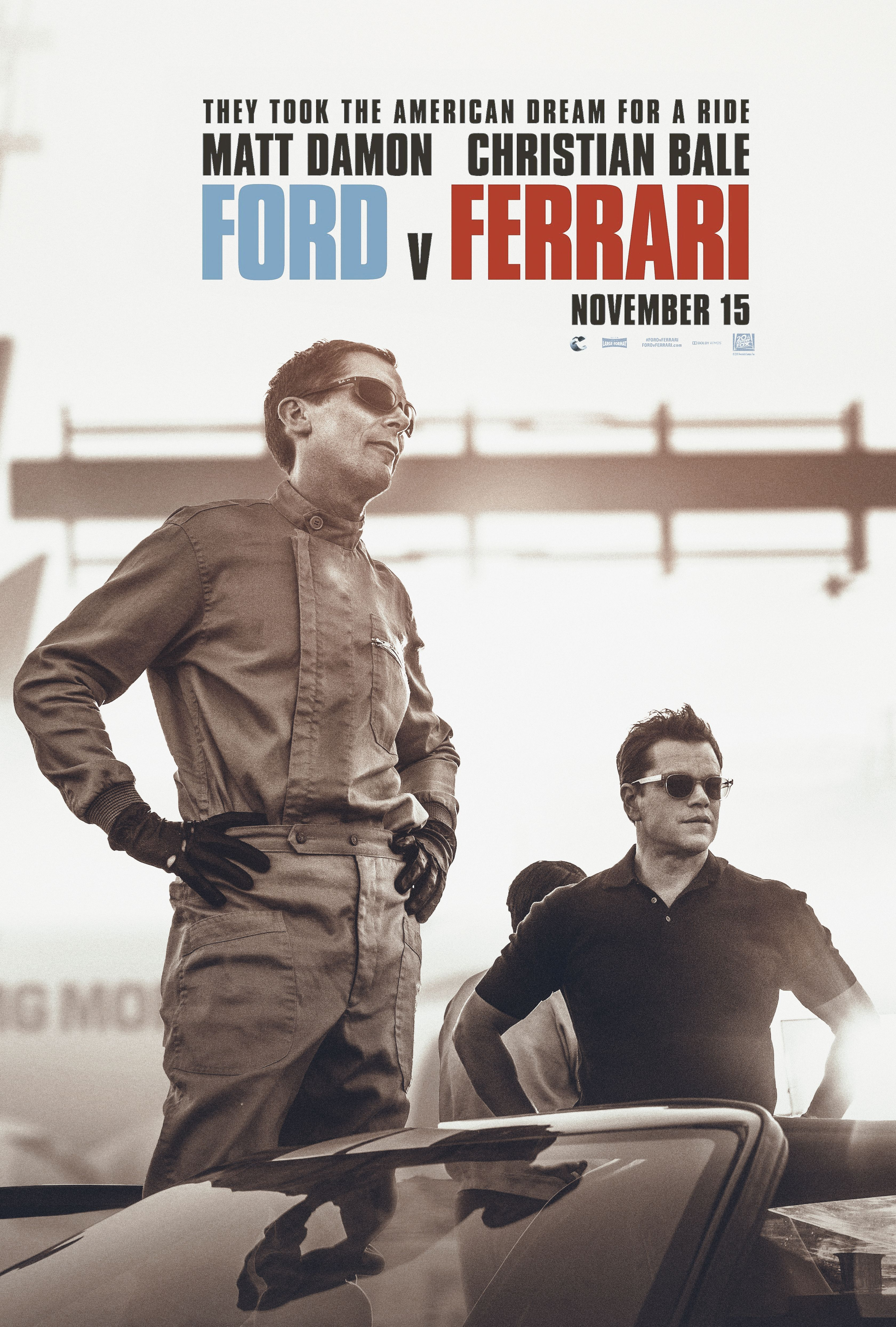 Ford Vs Ferrari Poster Art Ferrari Poster Iconic Movies Cinema Movies
