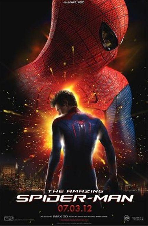 The Amazing Spider Man Movie 2012 Poster Print Detail Amazing Spiderman Marvel Spider Man