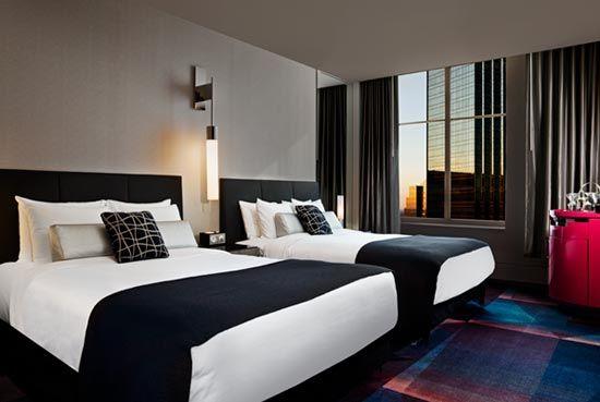 W Minneapolis Cant Wait Bacheloretteparty Be Jealous Meechwedding Luxury Hotel Room Bedroom Entertainment Center Hotels Room