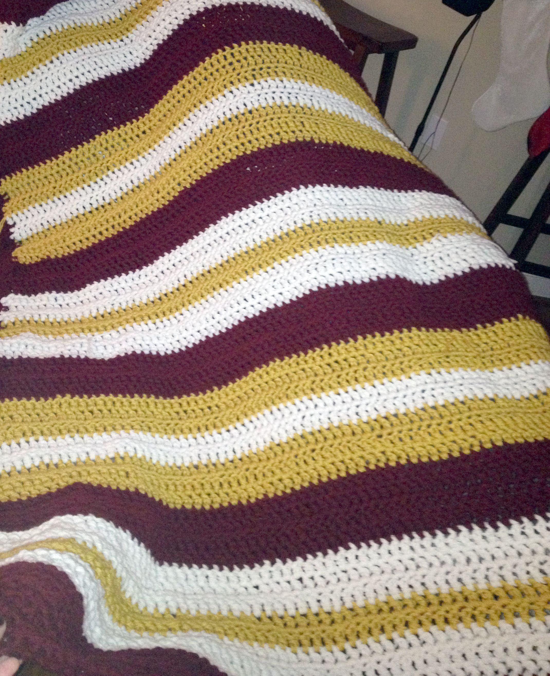 University of alabama baby afghan blanket i just finished this redskins crochet blanket bankloansurffo Images