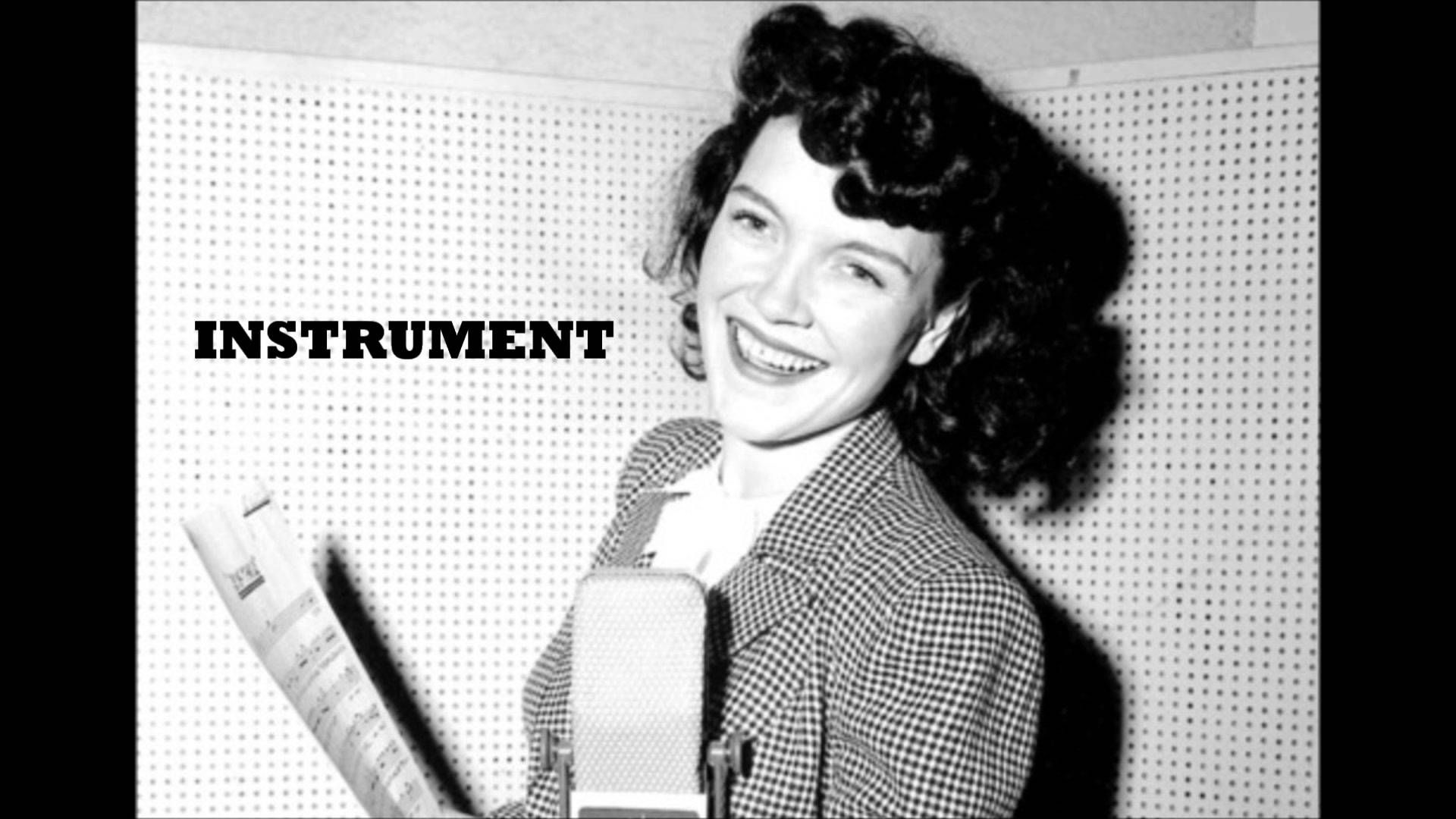 Ella Mae Morse - The Blacksmith Blues Lyric