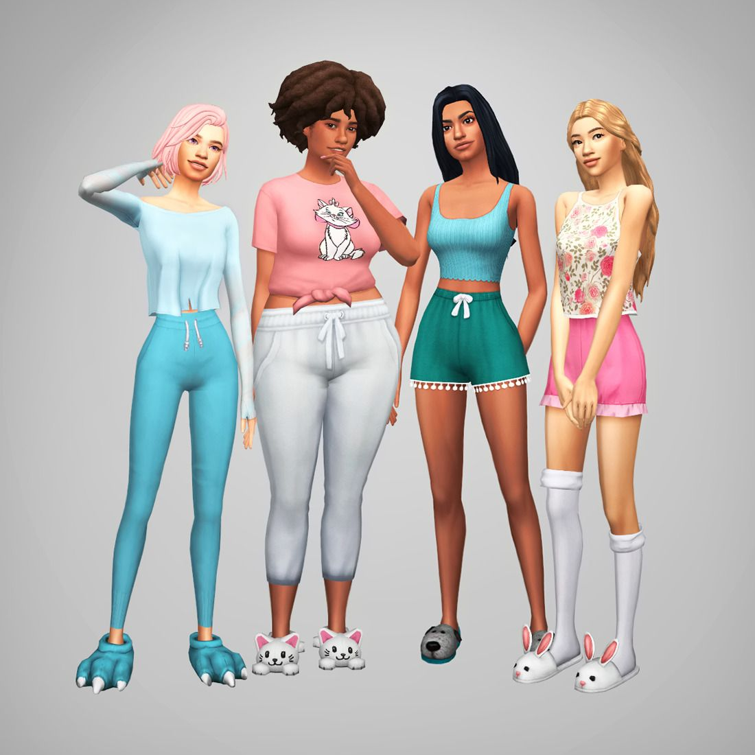 Sims superbabes sisters