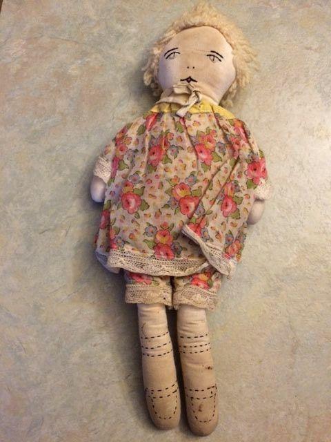 Antique Rag Doll | eBay