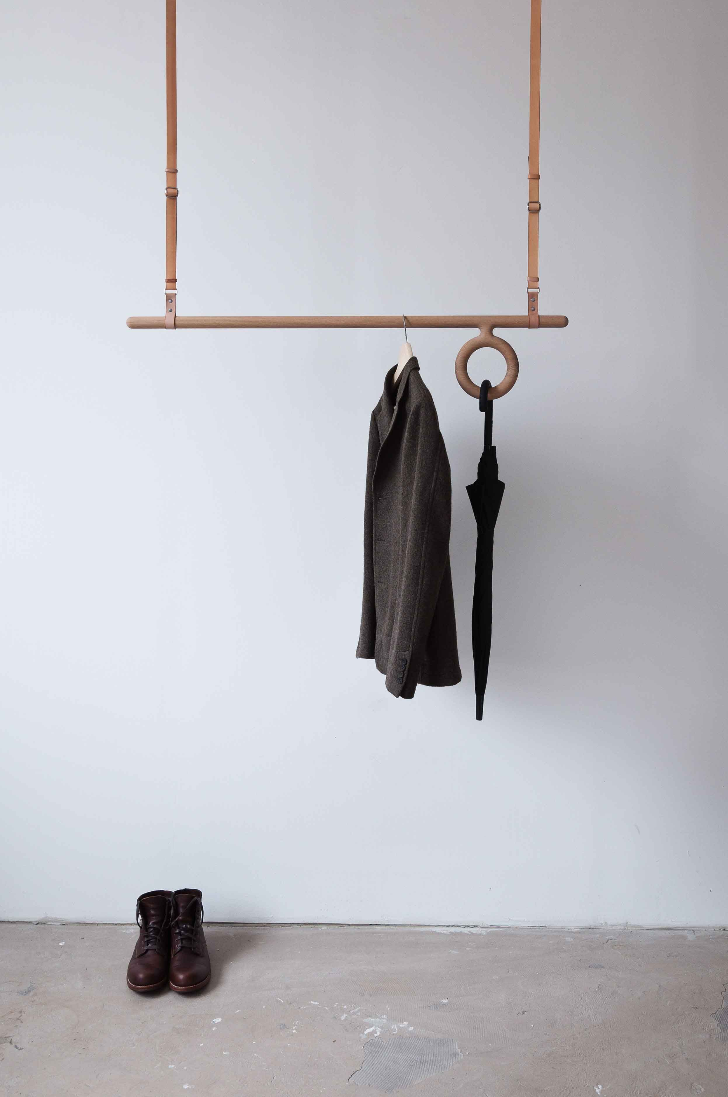 frank candid laundry clothes wooden hanging rack products george willy ceiling drying and line mounted