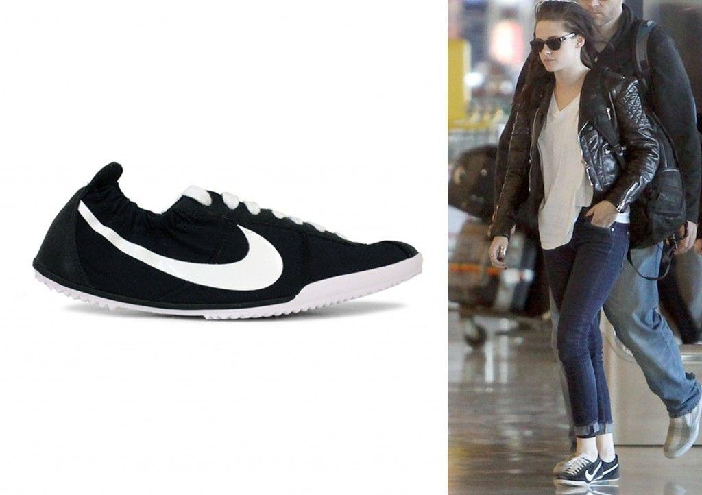 Nike (black) tenkay | Black nikes, Kristen stewart style