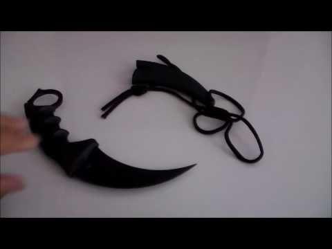 Gerçek Hayatta Karambit - Real CS:GO Knife