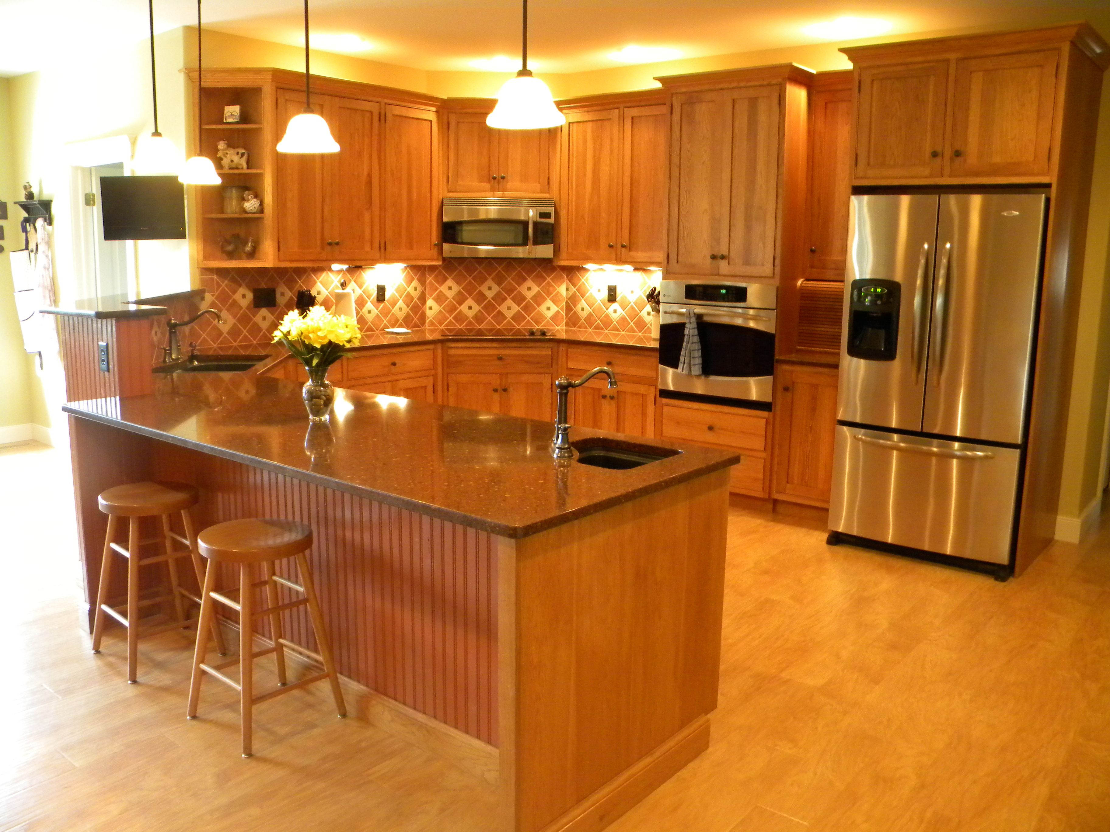 custom open u shaped kitchen with a country primitive design by summit10 u shaped kitchen on u kitchen decor id=38020