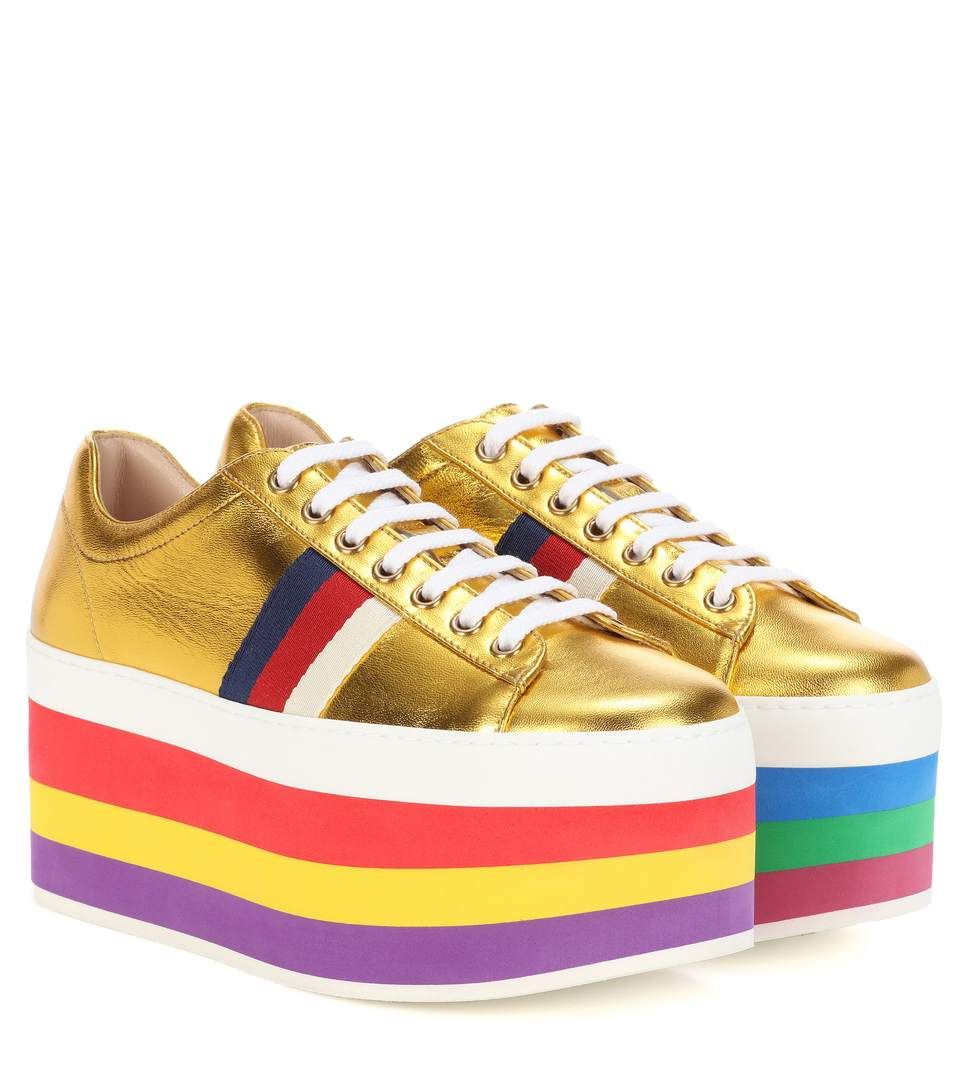 GUCCI - Platform sneakers - Crafted