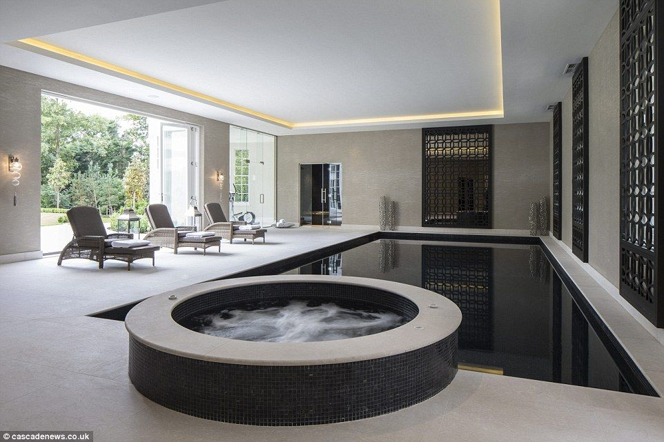 Mansion with cinema, pool and 1,700 bottle cellar on sale for ...