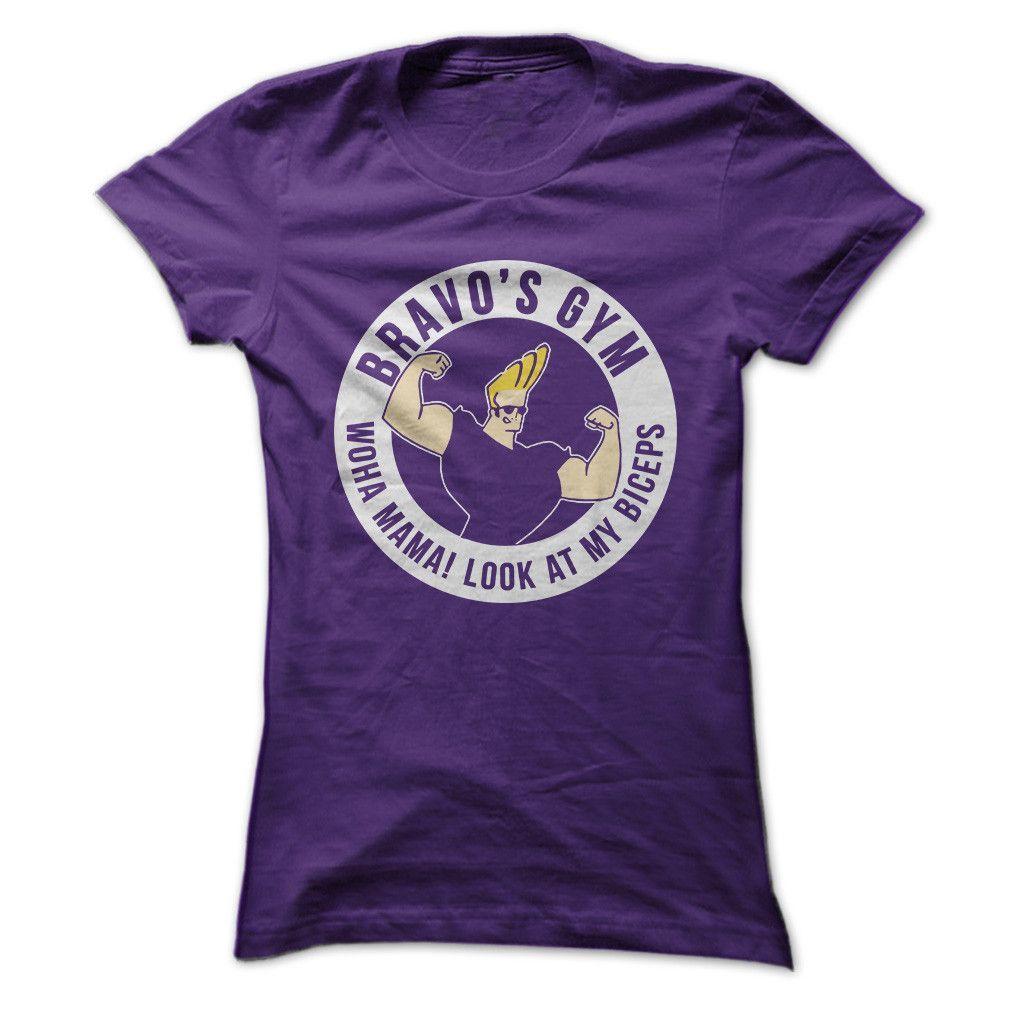 Bravo's Gym TShirt T shirt, Shirts, Cool t shirts