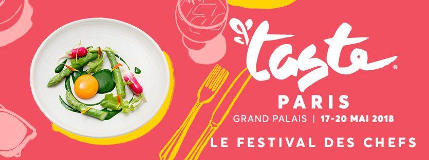 Taste of Paris 210 May 17, 2018 - May 20, 2018 €15 - €70