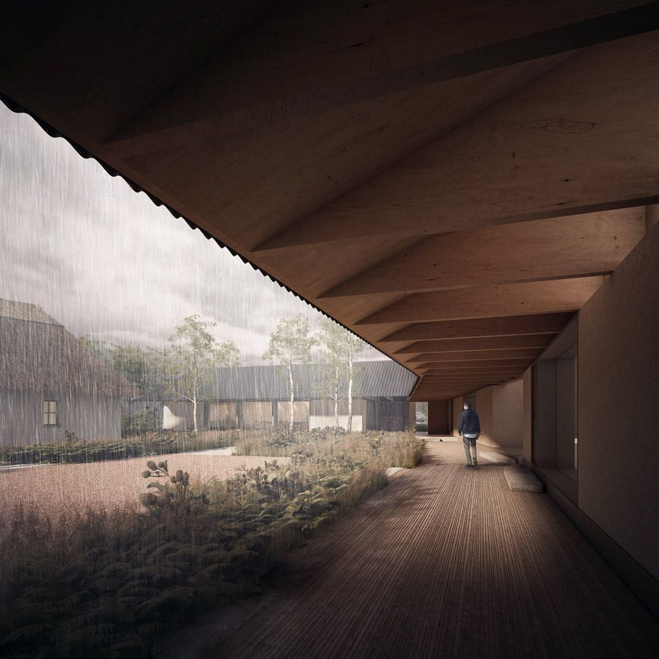 D Rendering Exhibition : Renderings by forbes massie for seduction of light