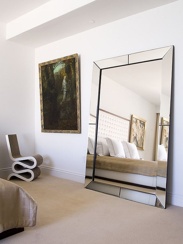 Decorate With Mirrors Beautiful Ideas For Home Large Bedroom Mirror Modern Bedroom Mirror Wall Bedroom