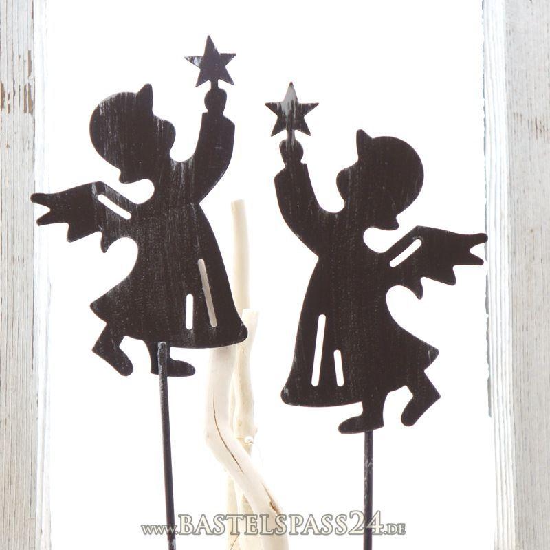 Deko engel weihnachten aus metall ve 1 stk gr l 50 cm for Weihnachtsideen dekoration