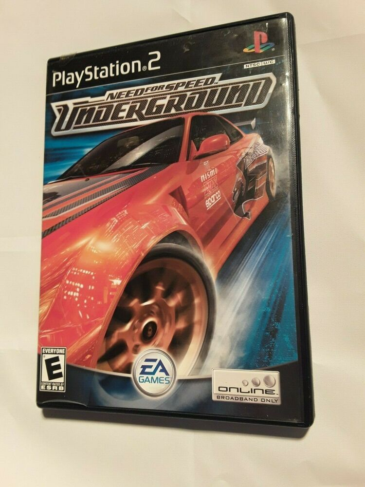 Need for Speed: Underground (Sony PlayStation 2, 2003