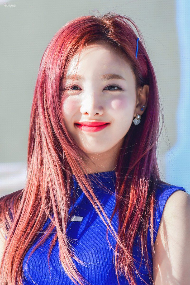 Appreciation All Twice Members In Bright Hair
