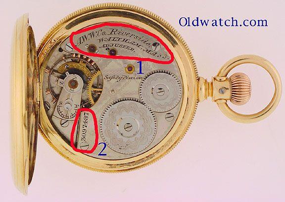 Watch serial numbers elgin pocket Elgin 571