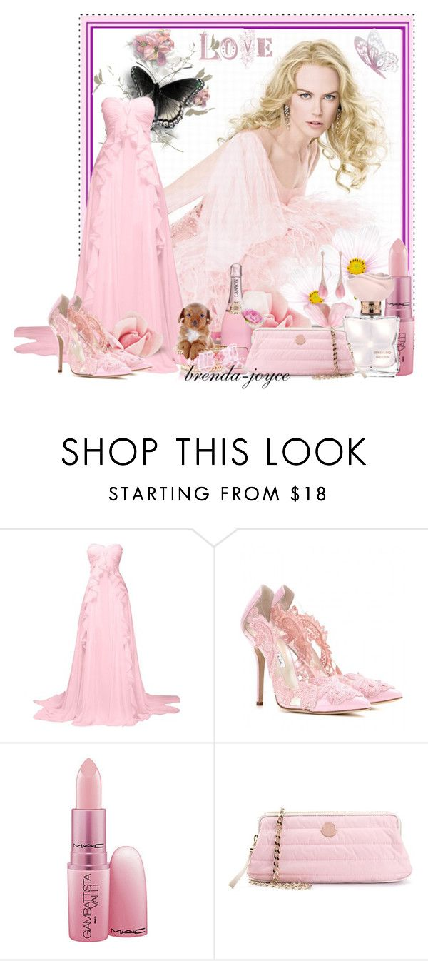 """Love Me Tender!"" by brenda-joyce ❤ liked on Polyvore featuring Nicole, Oscar de la Renta, Giambattista Valli, Moncler and Miadora"