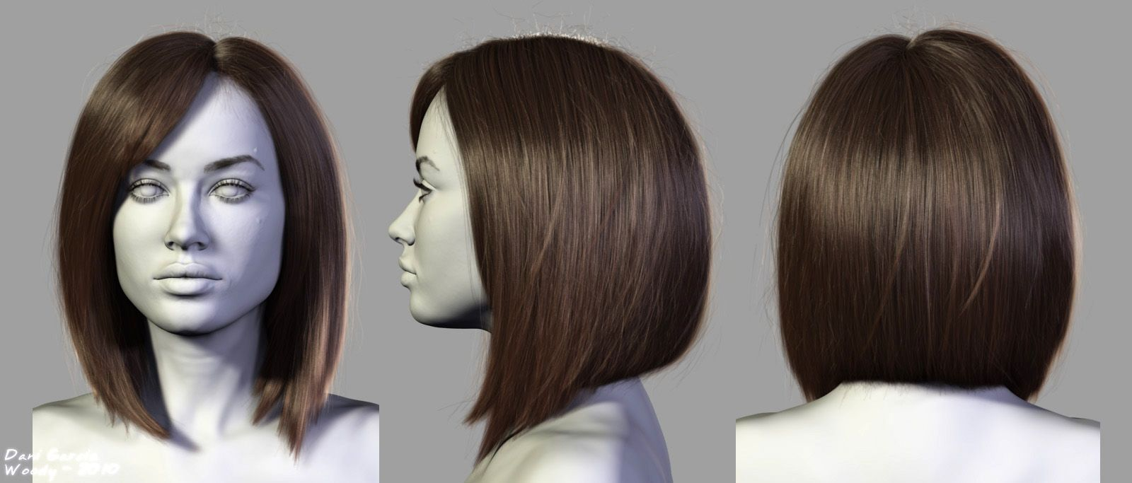Hair Style References: Hair Farm™ - The Ultimate Hair Plug-in For 3ds Max