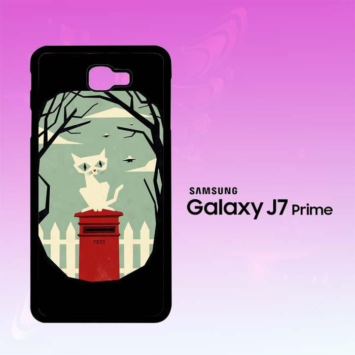 Let's meet at the red post box A0398 Samsung Galaxy J7 Prime Case