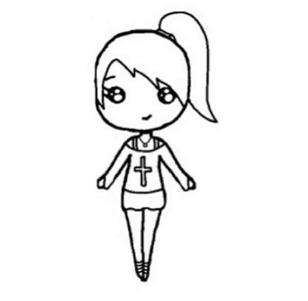 Pin By Jacqueline On Chibi Templates    Chibi Drawings