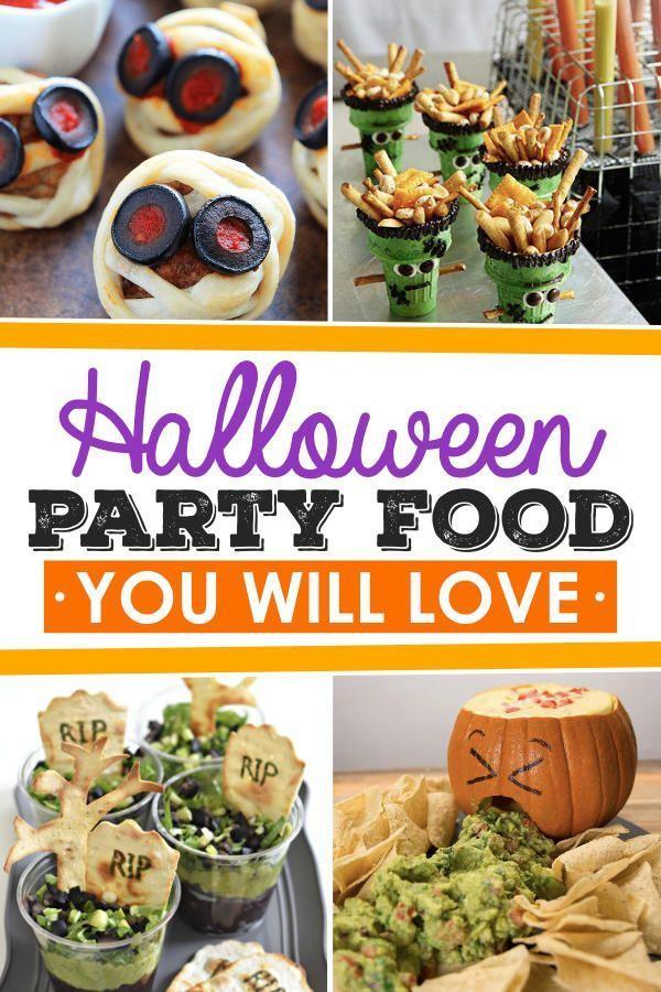 Fun Halloween Food Ideas Halloween food for party, Fun