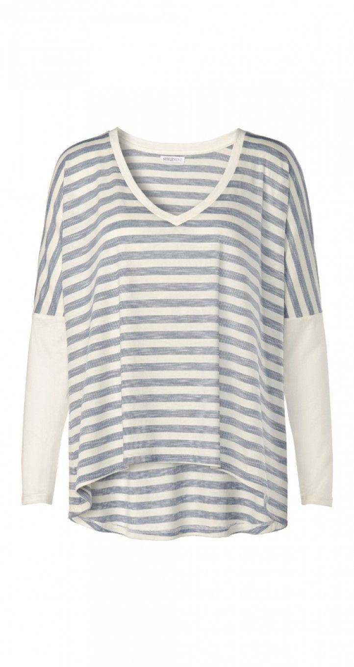 Stripes to spice up casual looks. Barley T - StyleMint.