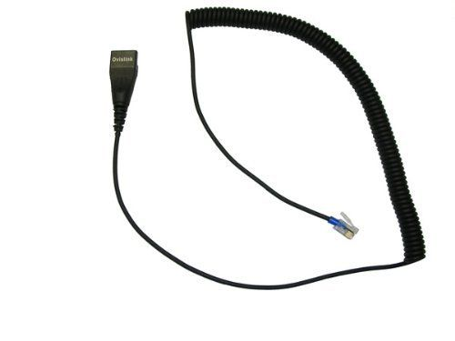 RJ9 (RJ22) Quick Disconnect Cord for use OvisLink Headset