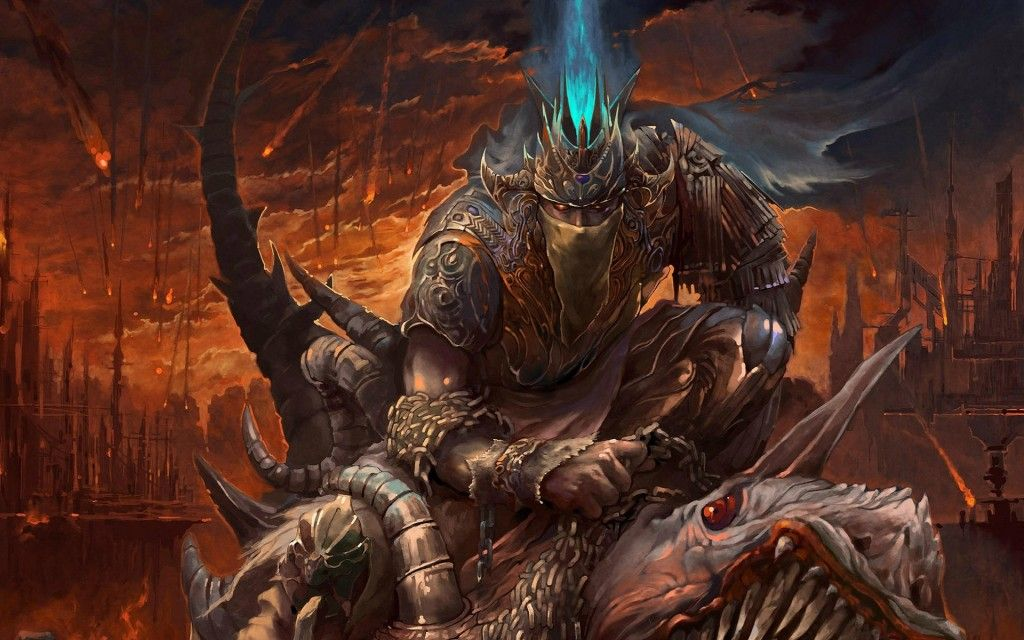 A Collection Of Dark Mysterious Hd Fantasy Wallpapers: Chevalier-paladin-heroic-fantasy-004