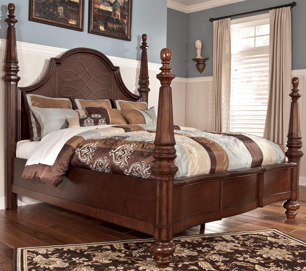 Flemingsburg King Poster Bedsignature Design  Tenpenny Awesome Signature Design Bedroom Furniture Inspiration Design