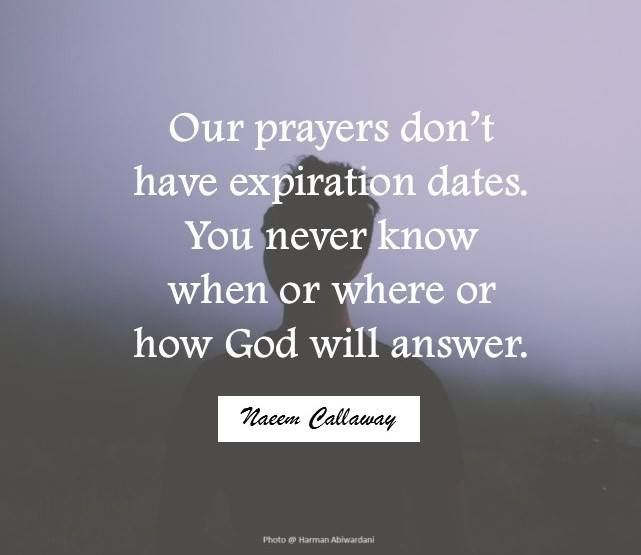 Just Because God Doesnt Answer Your Prayer Right Away Doesnt Mean