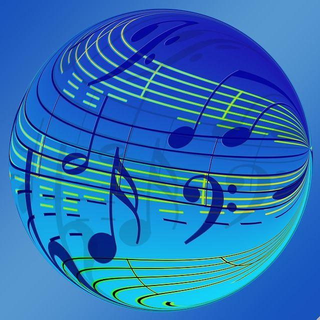 Kostenloses Bild auf Pixabay - Tanzen, Noten, Notenblatt