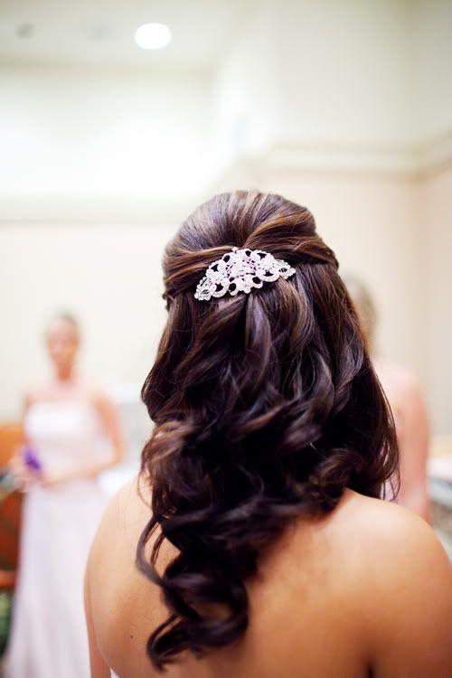 The Disney Wedding Blog Wedding Spotlight Christin Ryan Hair Styles Wedding Hair Down Wedding Hairstyles