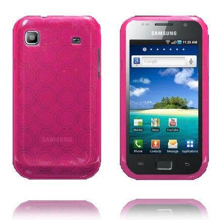 Amazona (Vaaleanpunainen) Samsung i9003 Galaxy SL Silikonisuojus