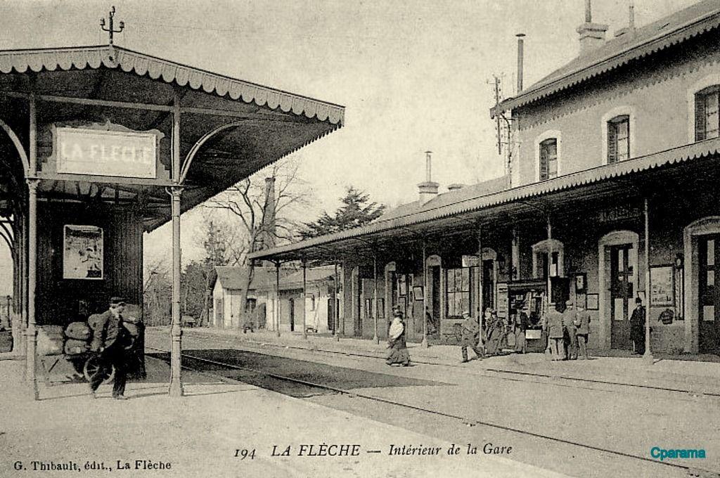 La Fleche 72 Sarthe Cartes Postales Anciennes Sur Cparama