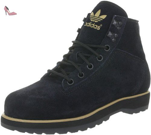 competitive price d5e9b e3a37 adidas Originals Adi Navvy Boot, baskets sportives homme - Noir - Schwarz  (BLACK 1