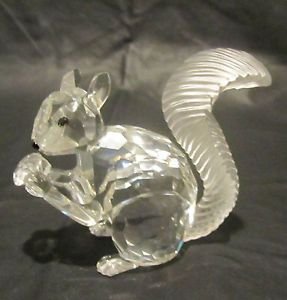 c58b861664aa Swarovski Clear Crystal Squirrel Figurine~NR