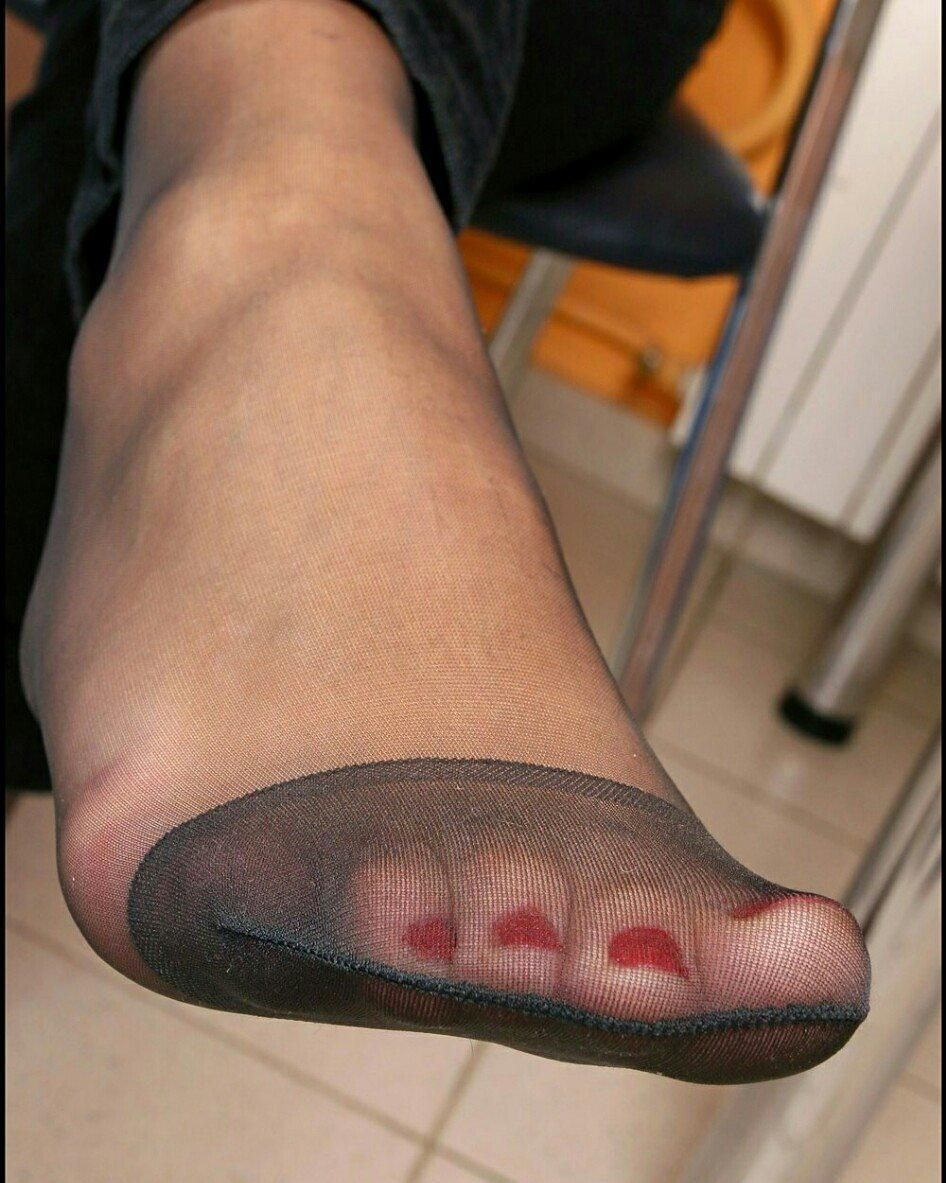 Pin On Nylon Covered Toes