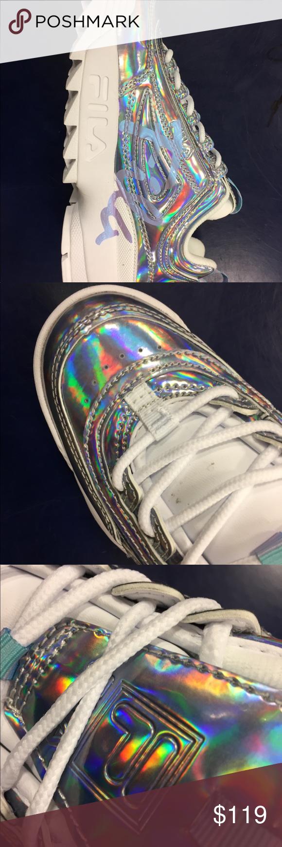 fila disruptor 2 iridescent