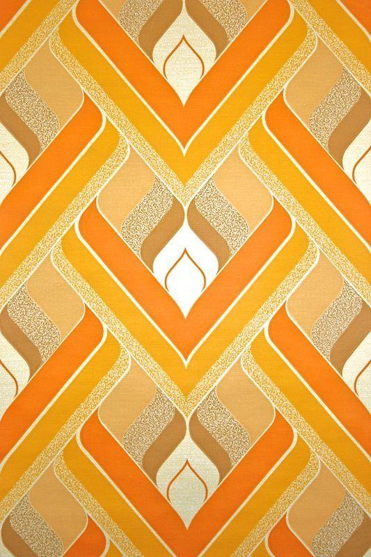 Interieur trends   Retro, Retro wallpaper and Wallpaper