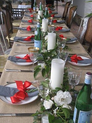 table setting for graduation & table setting for graduation | Entertaining Ideas | Entertaining ...