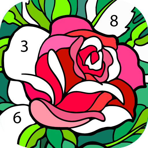Download Happy Color Color By Number On Pc Mac With Appkiwi Apk Downloader Coloring Apps Happy Colors Color By Numbers