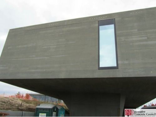 Decorative Concrete Council Architectural Concrete Award Winner Ruttura And Sons Construction Company Long Island Concrete Decor Concrete Projects Concrete
