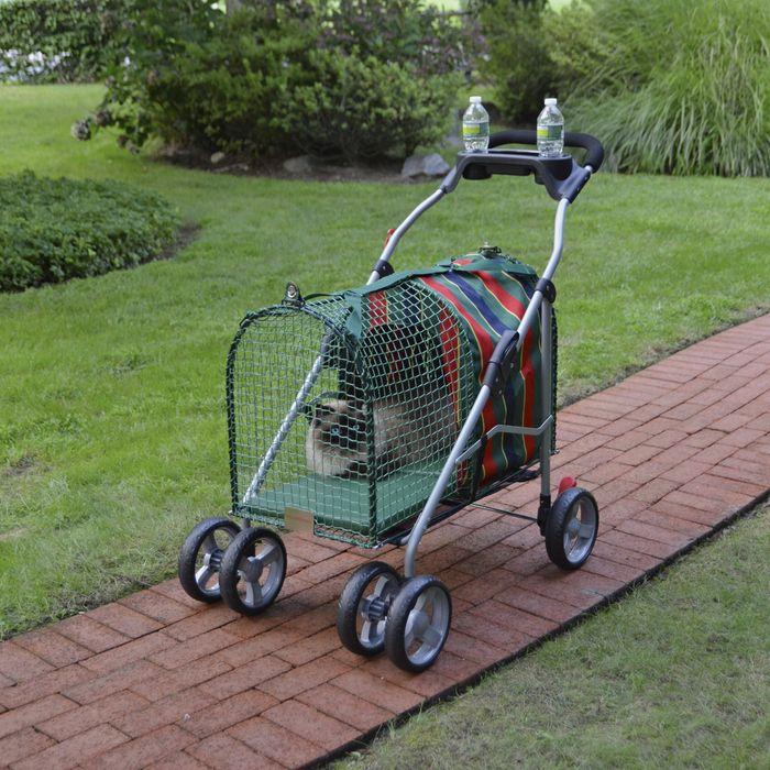 Original Pet Stroller SUV at Brookstone—Buy Now! Crazy