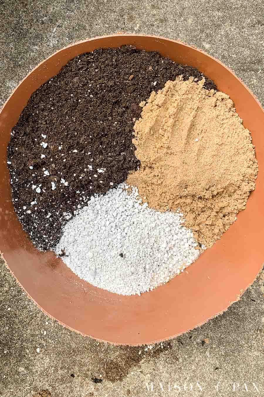 DIY Succulent Soil Potting Mix - Maison de Pax
