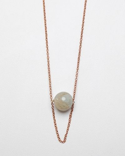 Stone Drop Necklace from Need Supply. I could DIY this, right?