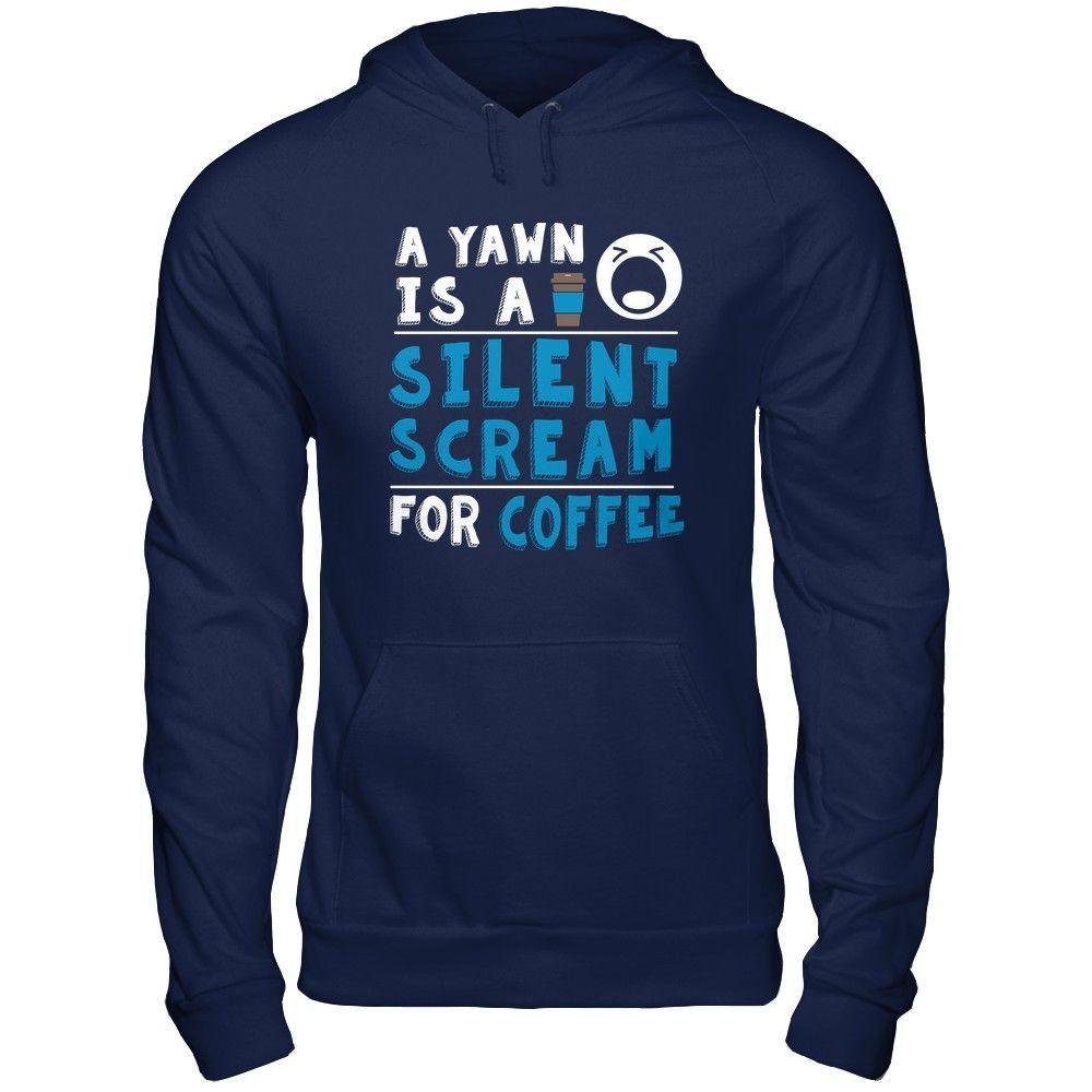 Yawn Is A Silent Scream - Shirts
