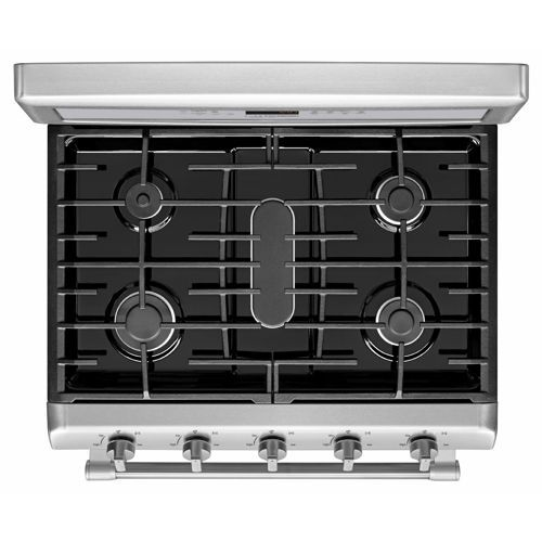 Maytag® Gemini® | 6.0CuFt Double Oven | Stainless Steel GAS Stove | With  EvenAir™ True Convection | MGT8820DS