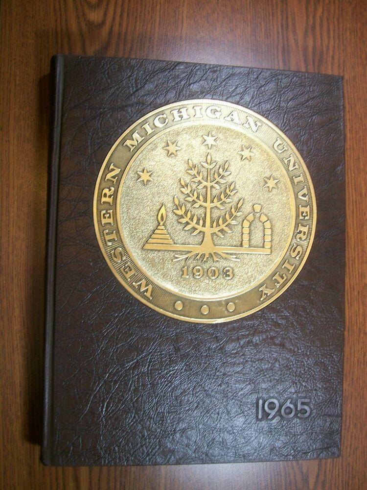 1965 Western Michigan University Kalamazoo Brown & Gold